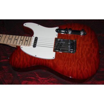2016 Fender Deluxe Custom Shop Telecaster Violin Burst AAA Maple Quilt/Birsdeye