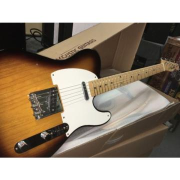 Fender American Vintage '58 Telecaster Tele 2 Tone Sunburst With HSC