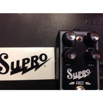 Supro Fuzz Pedal New Price Lowered. For Quick Sale