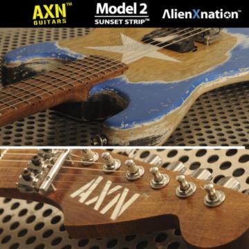 AXN™ SUNSET STRIP™ Model 2 Custom Boutique Electric Guitar USA