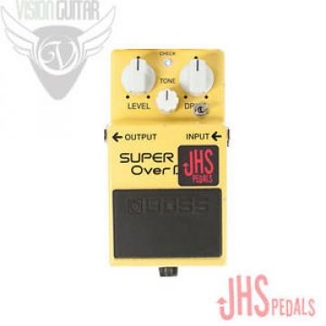 NEW! Boss SD-1 Super Overdrive With JHS Pedals Trans Am Mod
