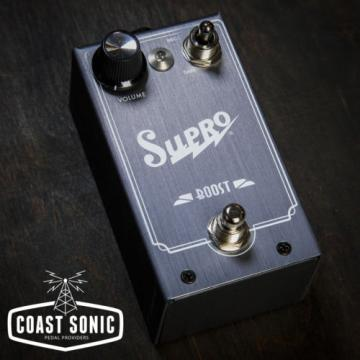 Supro 1303 Boost Effects pedal