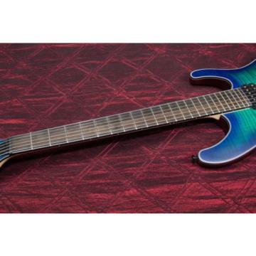 Ibanez Iron Label S Series SIX6FDFM Electric Guitar Blue Space Burst 030903