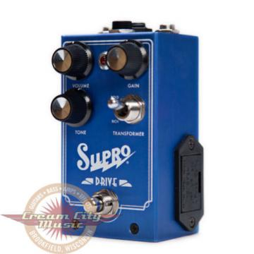 Brand New Supro Drive Overdrive Boost Distortion Guitar Effect Pedal