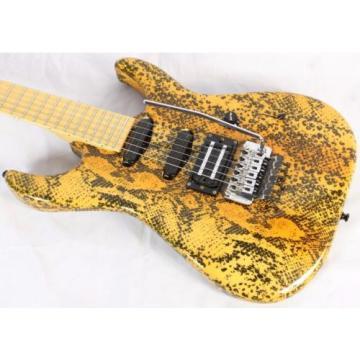 1980's Custom 48 48th Street Custom NYC Electric Guitar w/HSC Snakeskin Finish