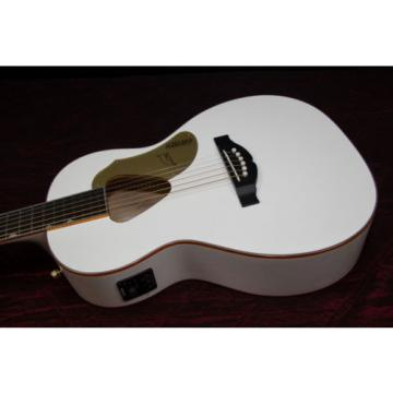 Gretsch Guitars G5021WPE Rancher Penguin Parlor Acoustic/Electric White 032001
