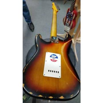 ESP/LTD ST-203 Distressed 3 Tone Sunburst