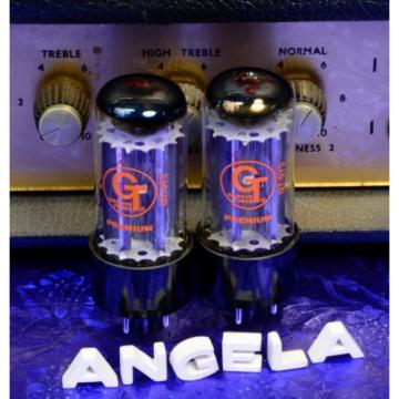 Real Matched Pair Sovtek Fender Groove Tubes GT-5Y3 5Y3GT Rectifier Tubes