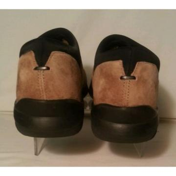 Deer Stags FLING Womens TAN SUEDE LOAFER Shoes 8 Med. with SUPRO SOCK support