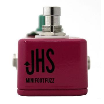 JHS Pedals Mini-Foot Fuzz Electric Guitar Effects Pedal with Sticker and Pi