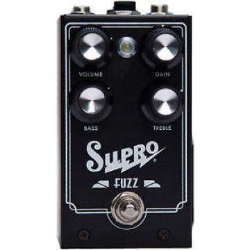 Supro Fuzz with NOS Germanium and Silicon Transistors Guitar Effect Pedal NEW