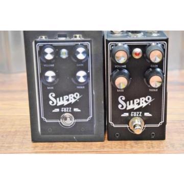 Supro USA 1304 Fuzz Germanium Guitar Bass Effect Pedal