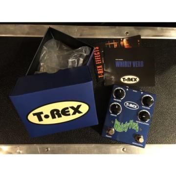 T-Rex Whirly Verb modulation reverb effect pedal