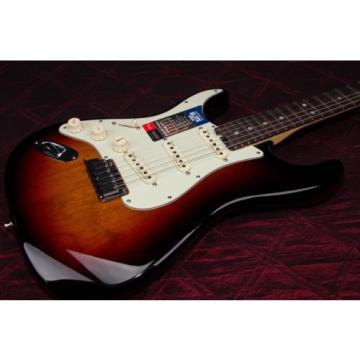 Fender American Elite Stratocaster Left-Hand Electric Guitar 3 Tone Sbst 030211