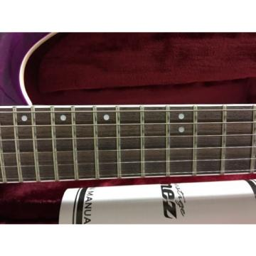 Ibanez S Prestige Series S5521Q Electric Guitar  Dark Purple Doom Burst