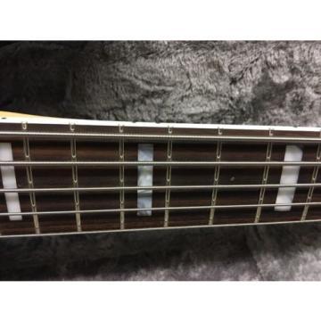 Fender American Elite Five String Jazz Bass  3-Color Sunburst