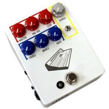 NEW COLOUR BOX VINTAGE CONSOLE STYLE PREAMP EFFECTS PEDAL. $0 US SHIP!!