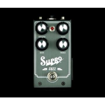 New! Supro Fuzz Overdrive Distortion Electric Guitar Effects Pedal