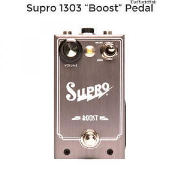NEW SUPRO BOOST GUITAR EFFECTS PEDAL w/ FREE CABLE Free US Shipping