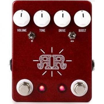 NEW JHS PEDALS RUBY RED BUTCH WALKER SIGNATURE OVERDRIVE PEDAL w/ 0$ US S&H