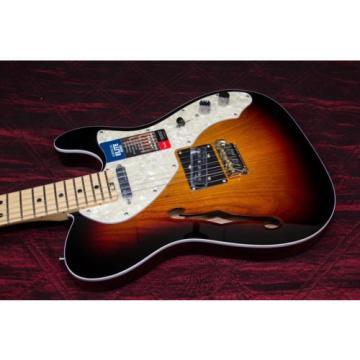 Fender American Elite Telecaster Thinline Electric Guitar 3-Color Sunburst