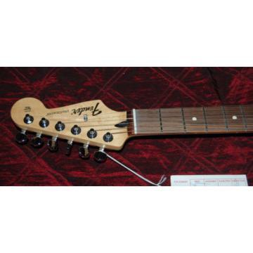 Fender Standard Stratocaster Electric Guitar with Rosewood Fretboard Black