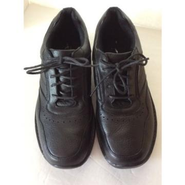 Deer Stags SUPRO Sock ~ Black Lace-Up Mens Oxfords ~ Sz 11.5M ~ PREOWNED