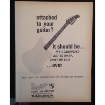 Vintage Hagstrom Supro Magazine Ad Lot