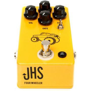 JHS Pedals Four Wheeler Bass Fuzz Built-In Gate Guitar Effect FX Stompbox Pedal