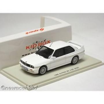 1982 BMW ALPINA B6 3.5S E30 SPARK MODEL 1/43 #SKB43002