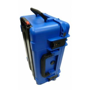 SKB  BLUE 3i-2011-7BL-D With padded dividers & Pelican 1510 Lid org. & Locks.