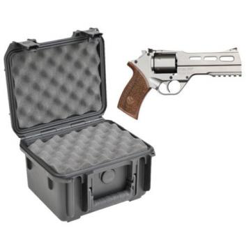 SKB Waterproof Plastic Gun Case Chiappa Firearms Rhino 6 Shot .357 Revolver New