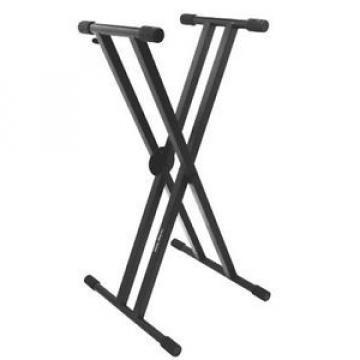 On-Stage Stands Pro Heavy-Duty Double-X ERGO-LOKKeyboard Stand KS7291 NEW