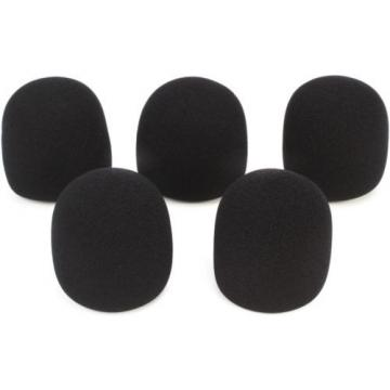 On-Stage Stands ASWS58B5 Windscreen 5-pack - Black