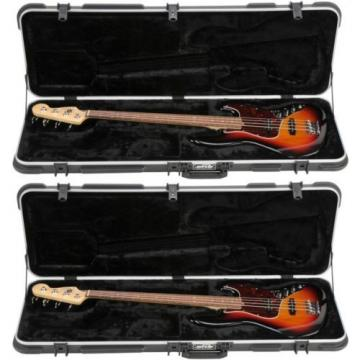 SKB SKB-44 Electric Bass Case (2-pack) Value Bundle