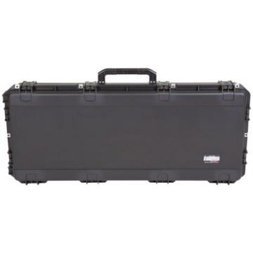 NEW SKB iSERIES WATERPROOF JUMBO SIZE ACOUSTIC GUITAR FLIGHT CASE TSA - BLACK
