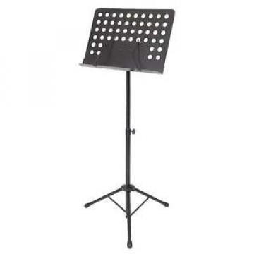 Kinsman KSS02 Deluxe Stage Music Stand - Black