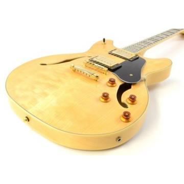 Washburn HB-35 NK Semi-Hollowbody Electric Guitar - Natural w/OHSC HB35