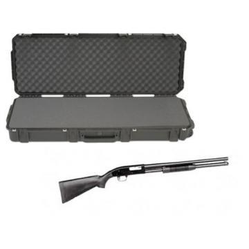 "SKB Waterproof Plastic 42.5"" Gun Case Mossberg Maverick Pump Action Shotgun"