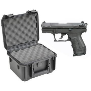 SKB Waterproof Plastic Gun Case Walther P22 Semi Auto .22 Lr Handgun Pistol