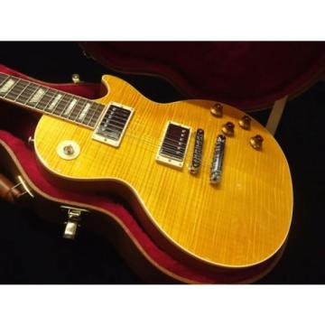 Gibson Les Paul Standard 2016 T Translucent Amber Electric guitar from japan