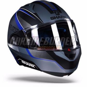 Shark Evo-One Astor Matt SKB Silver Black Blue, New!