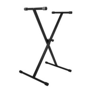 NEW On-Stage KS7190 Single Braced X Style Keyboard Stand