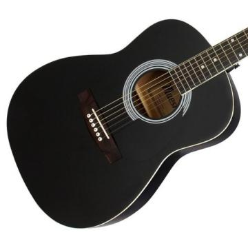 """Gibson Maestro 38"""" Parlor Size Acoustic Guitar, Ebony, with Accessories"""