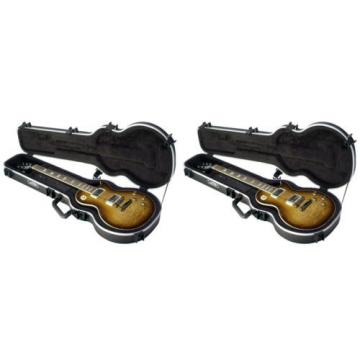(2) NEW SKB 1SKB-56 Les Paul® Hardshell Guitar Cases 1SKB56