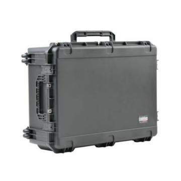 SKB Black Case 3i-3424-12B-E. No foam With Pelican TSA- 1730 Lock.