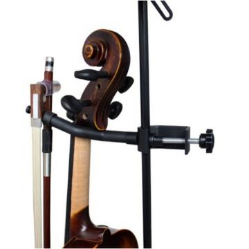 Vizcaya Violin Stand VLH10 Violin Hanger With Bow Peg Attachment for Music Stand