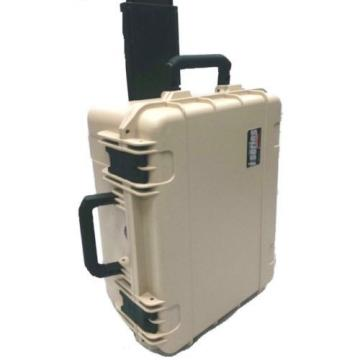 Desert Tan SKB Cases 3i-2217-12T-E. NO foam.  With Pelican TSA- 1620 Travel Lock