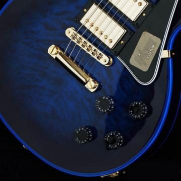 Gibson Custom Shop Les Paul Custom 3-Pickup Hand Selected Quilt Top, f0361