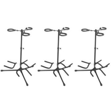 On-Stage Stands GS7353B-B Flip-It! -Triple (3-pack) Value Bundle